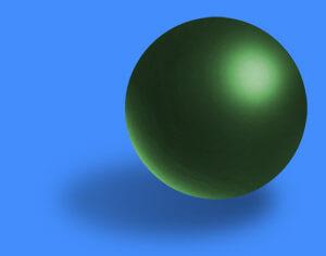 как нарисовать шар